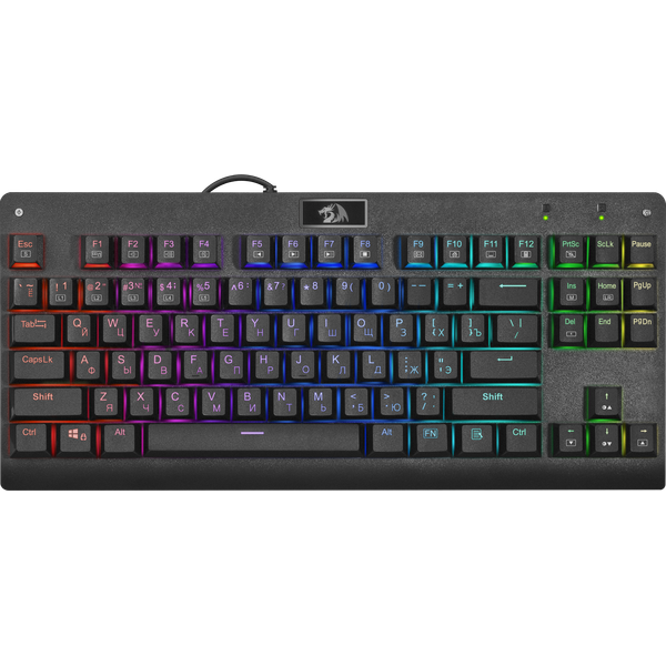 Gaming Redragon Mitra RGB Black Mecanica